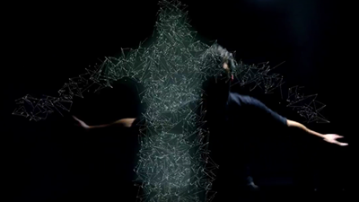MAT3R DOLOROSA : A ballet of particles in his new video clip Retroaction !