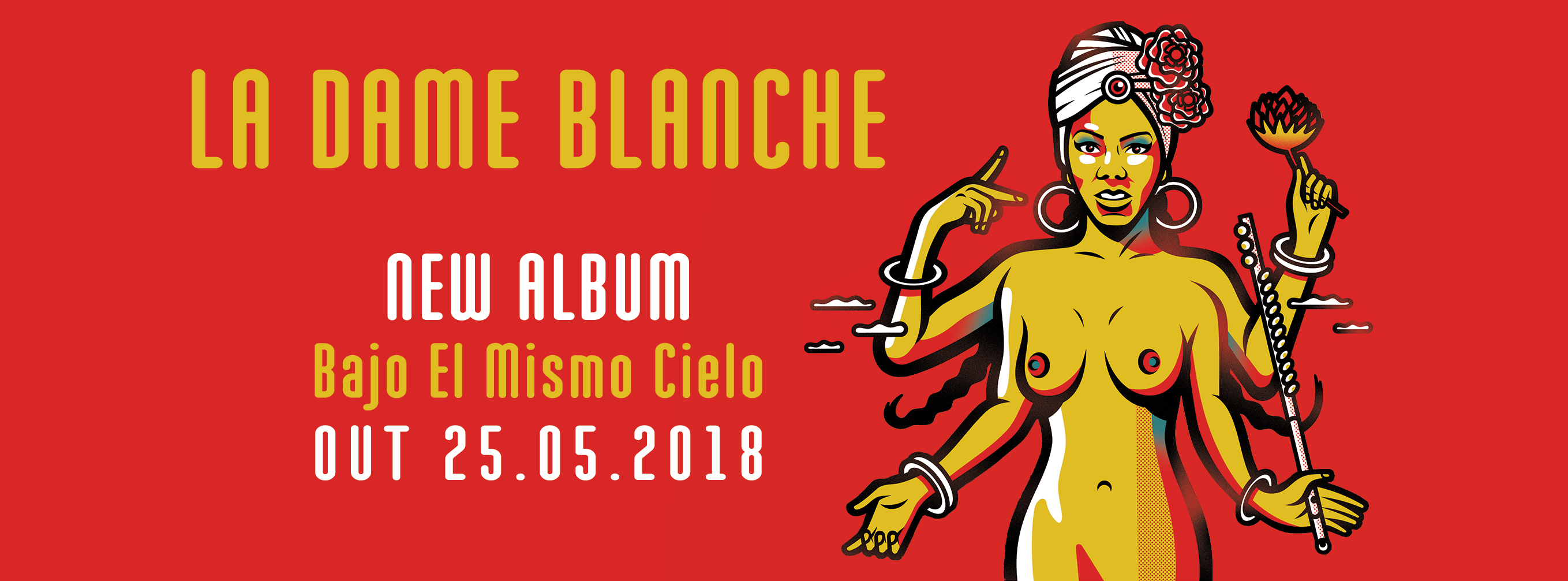 La Dame Blanche album artwork