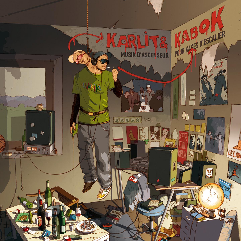 MuziK d'Ascenseur Pour Kages d'EsKalier