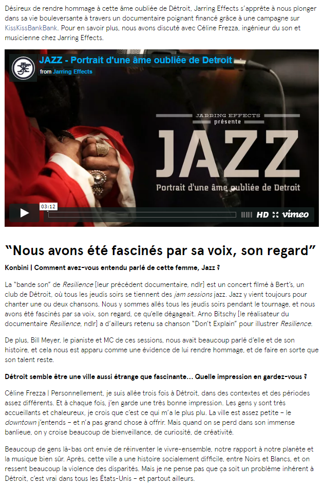 Revue de presse | Jarring Effects -FR