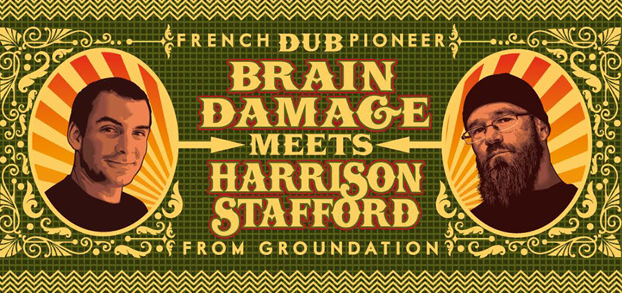 Brain Damage meets Harrison Stafford