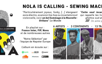 « Sewing Machine Effects », un album adoubé par la presse