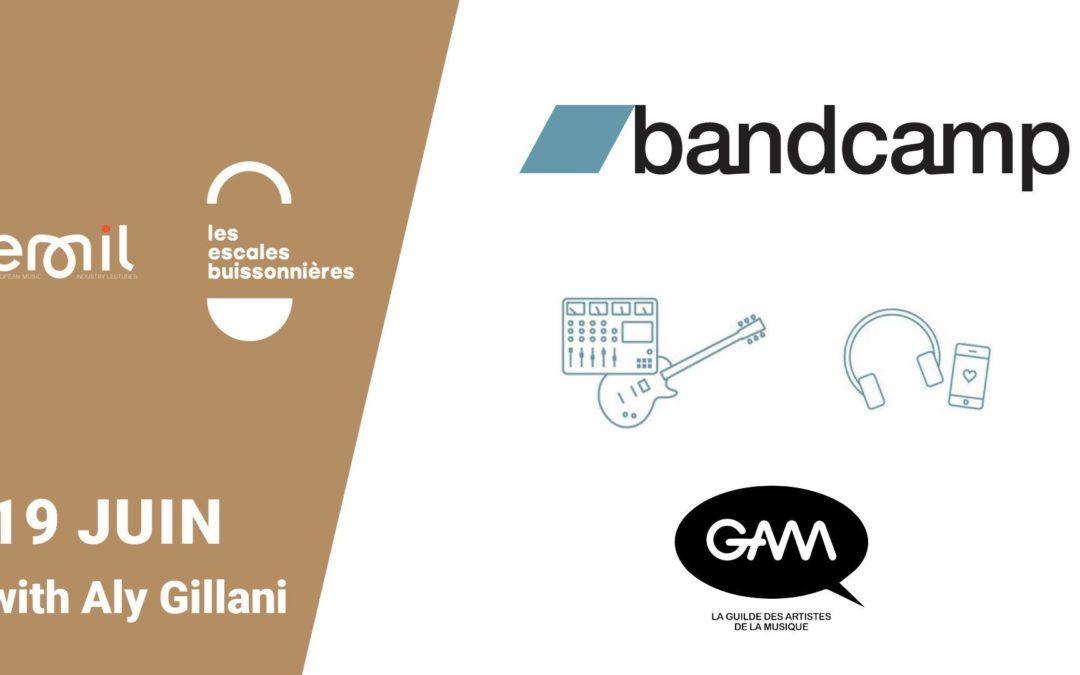 Le représentant Europe de Bandcamp à Lyon, le 19 Juin 2019