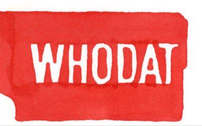 Whodat, une synesthésie haute en couleur pour le second clip de NOLA IS CALLING –Vimeo Staff Picks