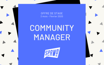 ON RECRUTE UN COMMUNITY MANAGER (STAGE)