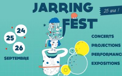 Jarring Fest' programmation du jeudi 24 septembre