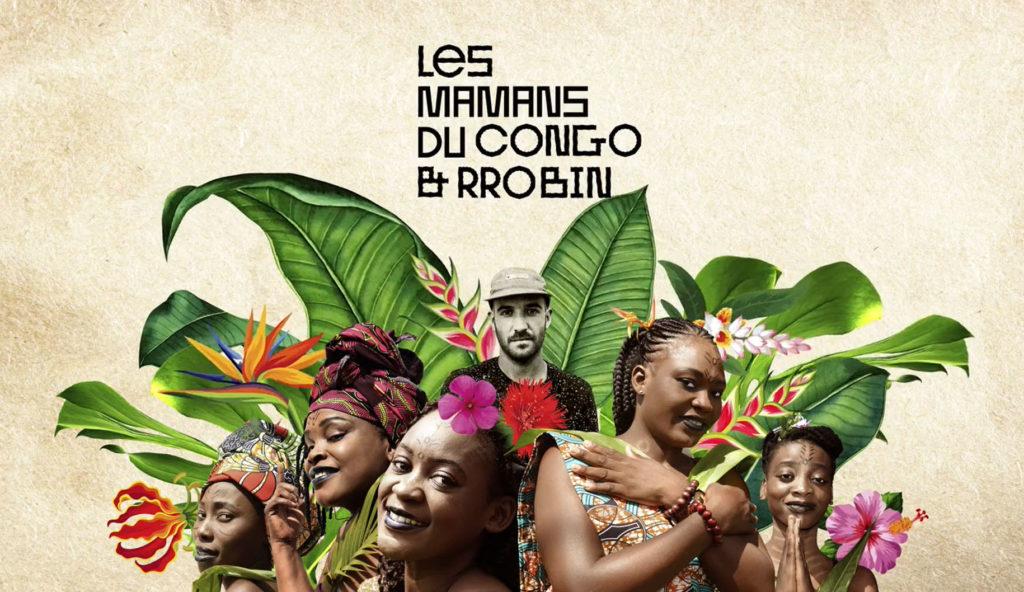 """Les Mamans du Congo et Rrobin """"Boum"""", single"""