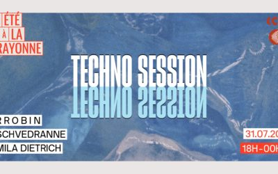 Ce vendredi c'est techno session à La Rayonne