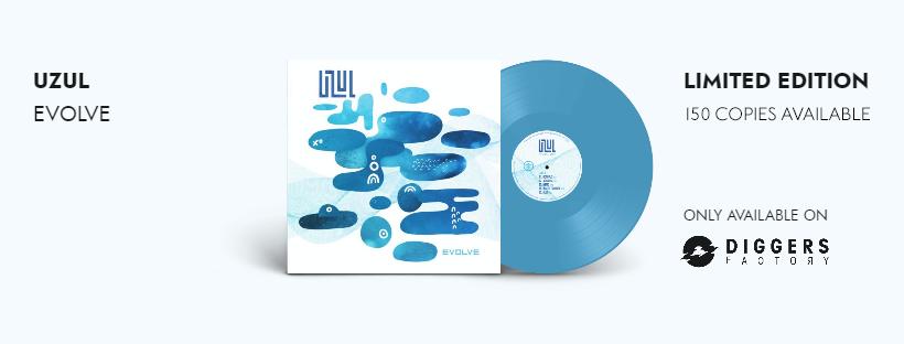Uzul, Evolve, vinyle, précommande, édition limitée