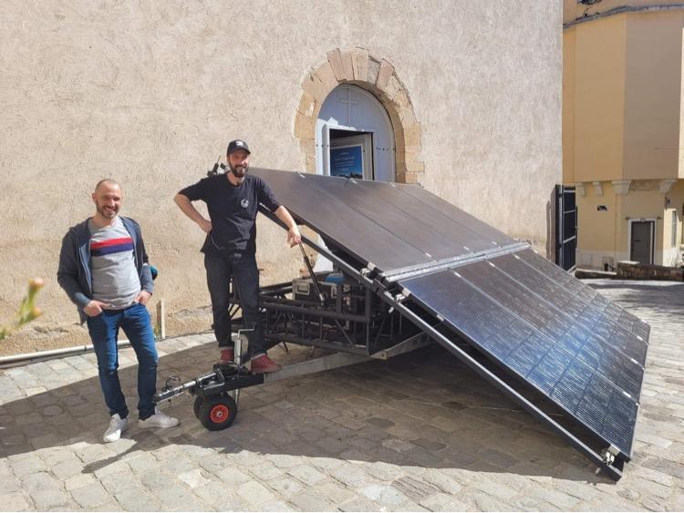 Mobilvolts - Génrateur solaire