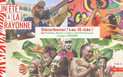 Décarboner l'événementiel ! Les 10 clés ! des concerts et de l'écologie le 12 juin à La Rayonne – Villeurbanne