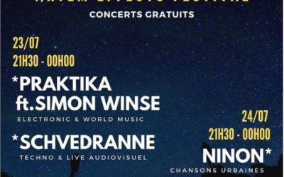 Artem Effects Festival les 23 et 24 juillet à Saint-Raphaël  – gratuit