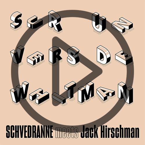 Schvédranne, Jack Hirschman, Sur un vers de Whitman, Céline Frezza