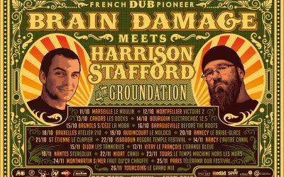 BRAIN DAMAGE Meets HARRISON STAFFORD !