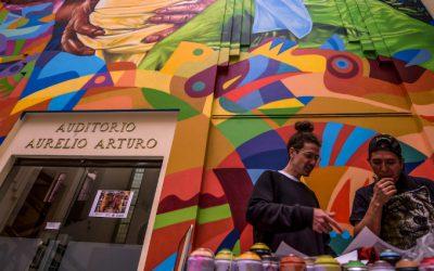 GUACHE, le street artiste colombien, à l'honneur du TrubLyon festival !